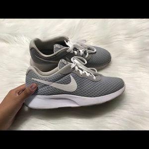 Nike Gray Tanjun Sneakers